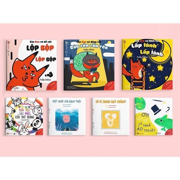 Mua Combo 2 bộ Ehon Âm thanh và Màu sắc - Cho bé 0-6 tuổi thông minh và sáng tạo (Tặng kèm cuốn Những Câu Chuyện Kinh Điển)