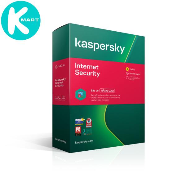 Bảng giá Kaspersky Internet Security Cho 5 Máy Tính - KIS5U - Hàng chính hãng Phong Vũ
