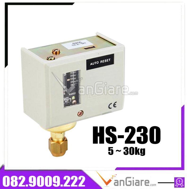 Rơ le áp suất HS-230 30kg Hàn Quốc - công tắc áp suất
