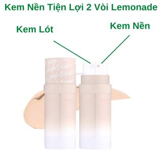 Kem Nền Lemonade Kết Hợp Kem Lót - Lemonade Perfect Couple Dual Foundation Chính Hãng Mỏng Nhẹ Kiềm Dầu 30g thumbnail