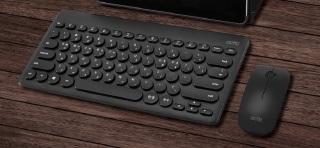 [HCM]Combo Bàn Phím và Chuột Không Dây Keyboard + Mouse Actto KMC-03 HÀNG NỘI ĐỊA HÀN QUỐC CHÍNH HÃNG CAO CẤP thumbnail
