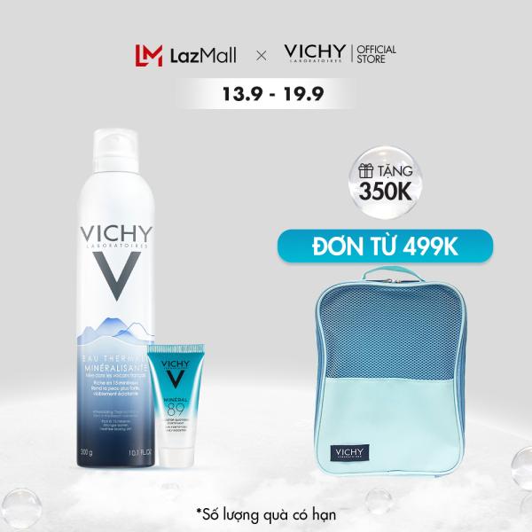 Bộ xịt khoáng dưỡng da Vichy Mineralizing Thermal Water cao cấp