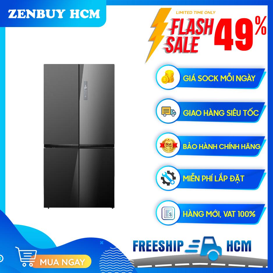 [Trả góp 0%]Tủ Lạnh ELECTROLUX Inverter 695 Lít EQE6909A-BVN