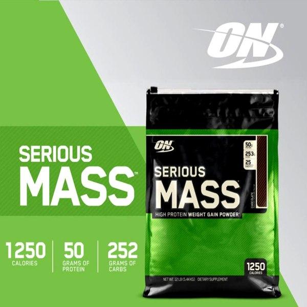 Serious Mass 5,45kg - Sữa tăng cân cho người gầy cao cấp