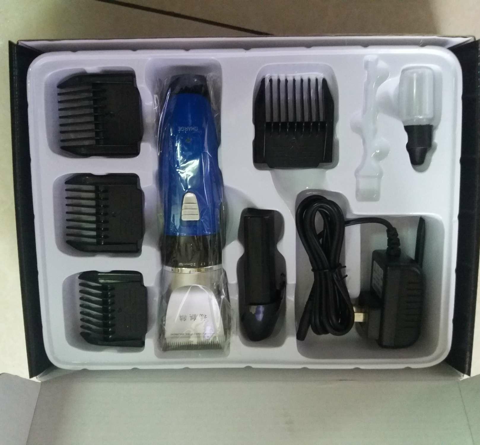 [TDCTBES8800] Tông đơ cắt tóc BES 8800, lưỡi dao kép, cắm điện trực tiếp hoặc dùng pin sạc cao cấp