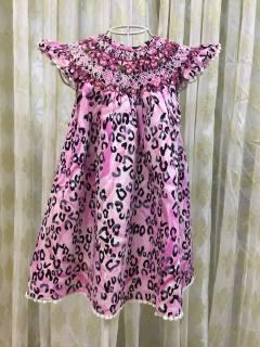 Đầm beo hồng dẽ thương giá sale mạnh 50%