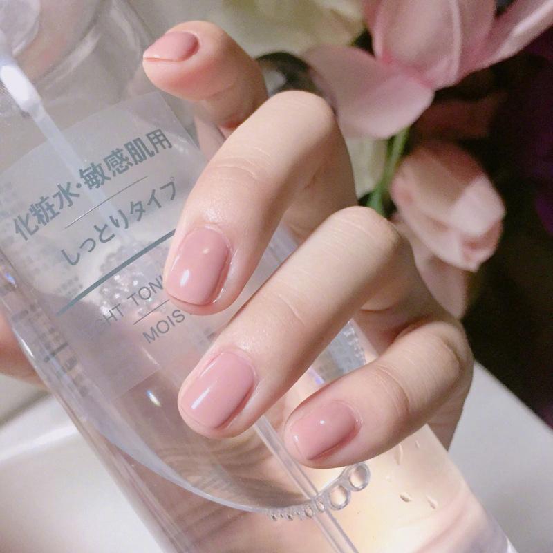 Bộ 24 móng tay giả hồng tự nhiên (kèm keo+dũa) tốt nhất