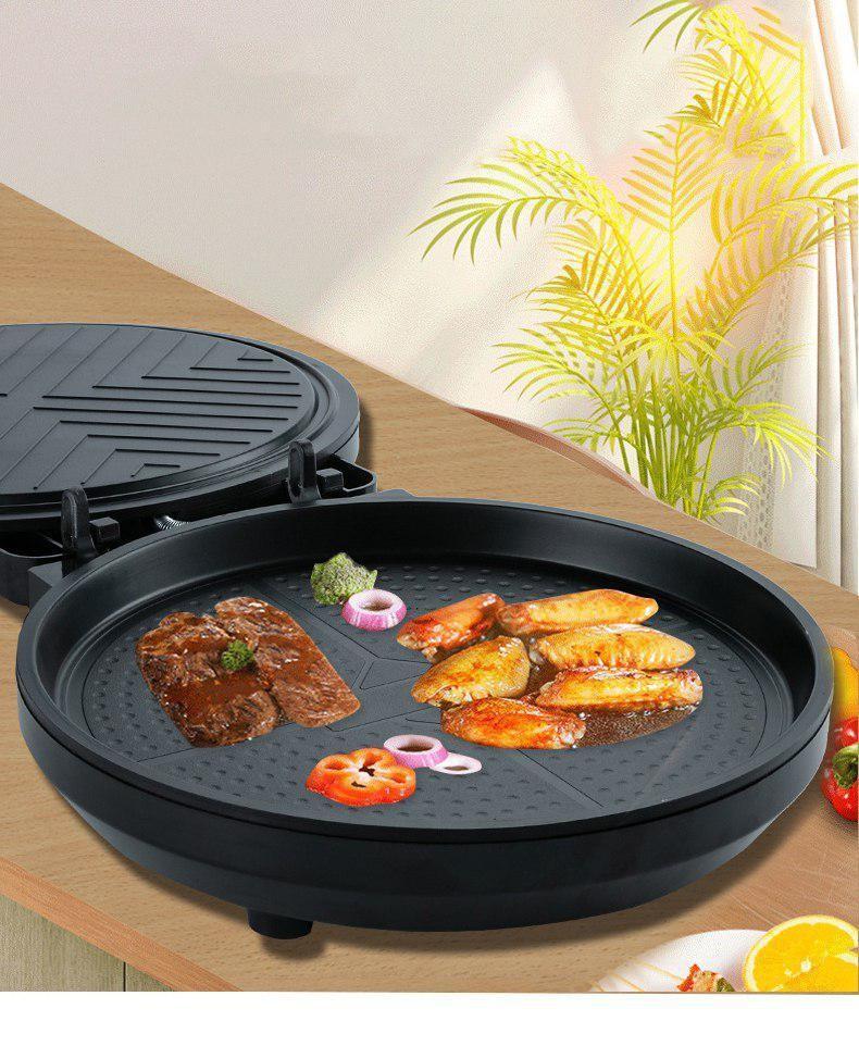 Máy Nướng Bánh, Làm Bánh-Máy kẹp bánh mỳ đa năng SY-6603 Dễ dùng,Tiết kiệm điện (Đen)