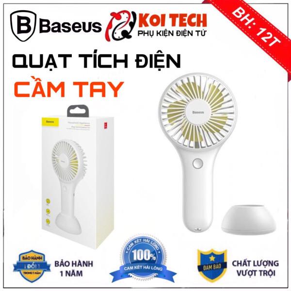 [ TẶNG DÂY ĐEO CỔ ] Quạt sạc tích điện Baseus Y100 BIGO FAN Mini USB Fan Di Động mang theo siêu nhỏ nhẹ tiện lợi để bàn hoặc Cầm Tay Pin bền 1800 mAH
