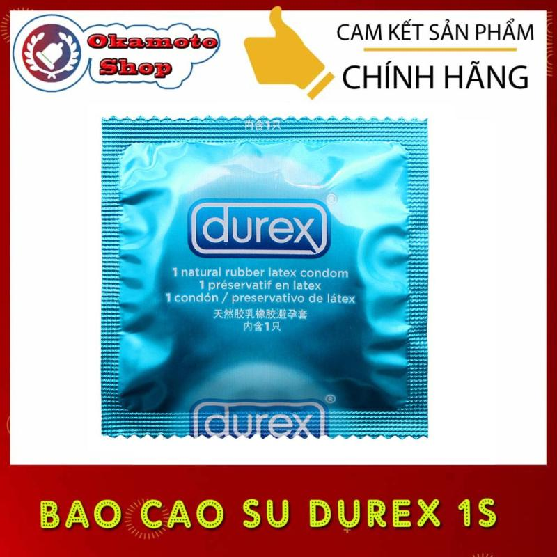 Bao cao su Durex 1 cái - [Che tên sản phẩm]