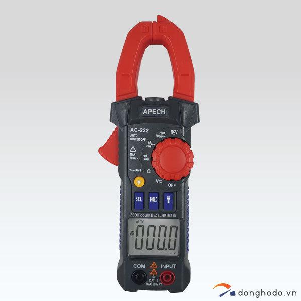 Ampe kìm đo AC APECH AC-222 (600A)