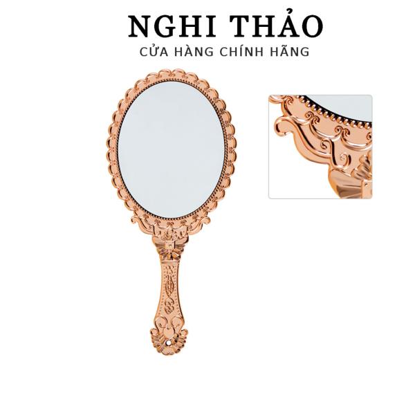 Gương cầm tay , gương hoàng cung cầm tay