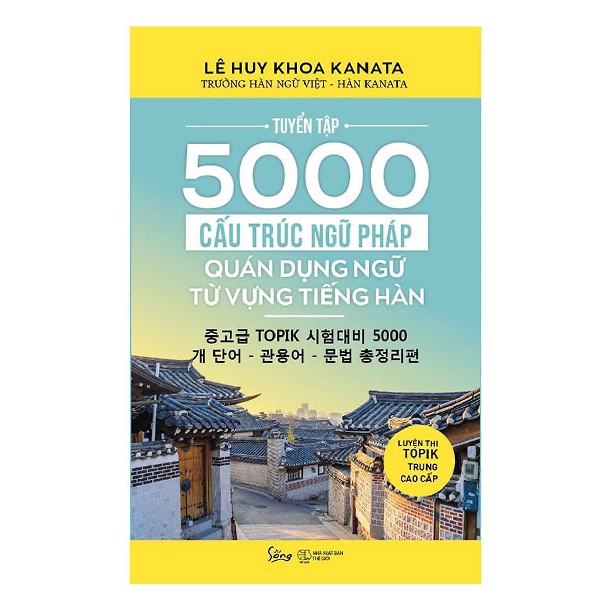Giá Cực Tốt Khi Mua Sách - Tuyển Tập 5000 Cấu Trúc Ngữ Pháp
