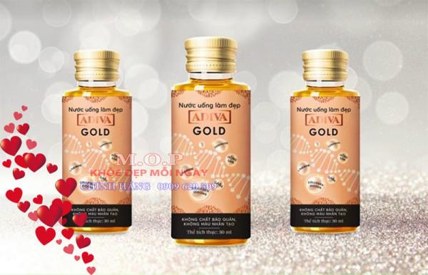 (CHÍNH HÃNG) 01 hộp Collagen Adiva Gold (14 lọ/ hộp)