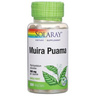 Thảo dược Amazon, Solaray, Muira Puama, 300 mg, 100 VegCaps thumbnail