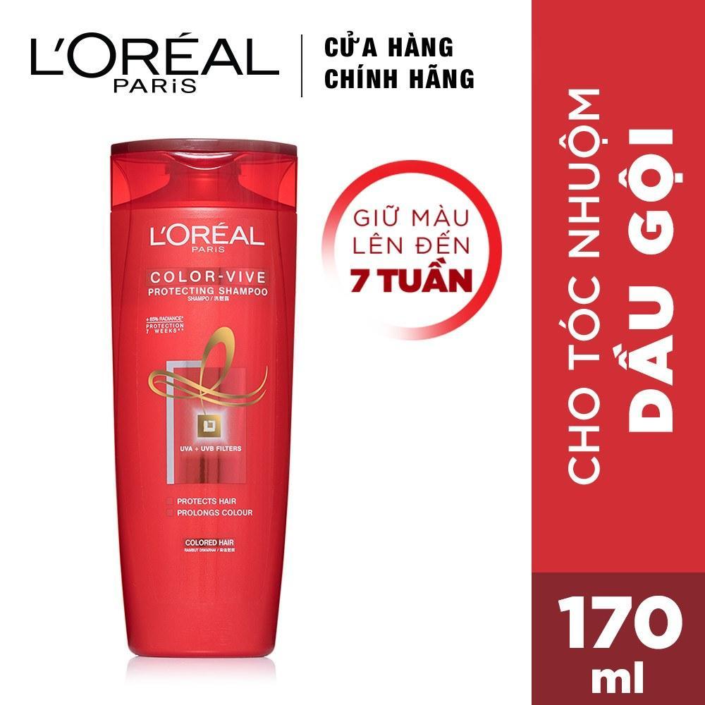 Dầu gội giữ màu tóc nhuộm Loreal Paris Elseve Color Vive Protecting Shampoo 170ml nhập khẩu