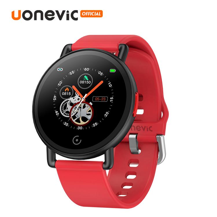 Đồng Hồ Thông Minh Uonevic JOY G3 màn hình 43mm Cho Điện Thoại Android Và IOS Theo Dõi Hoạt Động Cả Ngày Chống Nước IP67 - INTL