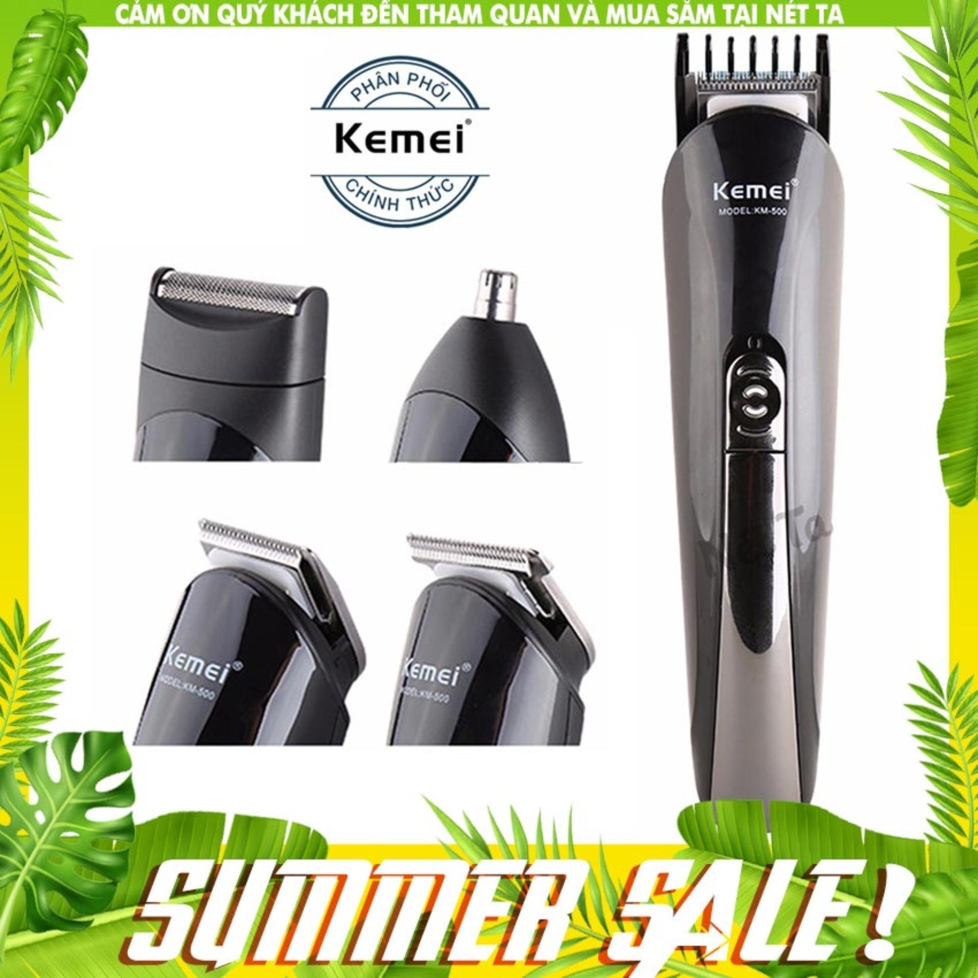 Tông đơ cắt tóc 4in1 Kemei KM-500 - Hãng phân phối chính thức nhập khẩu