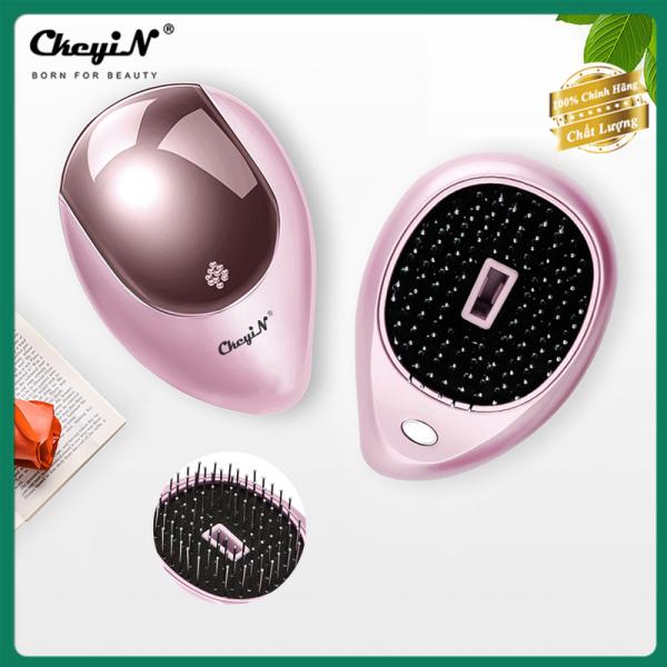 Lược mát-xa da đầu bằng ion âm chống tĩnh điện CkeyiN giúp lưu thông máu dành cho người lớn và trẻ em - INTL