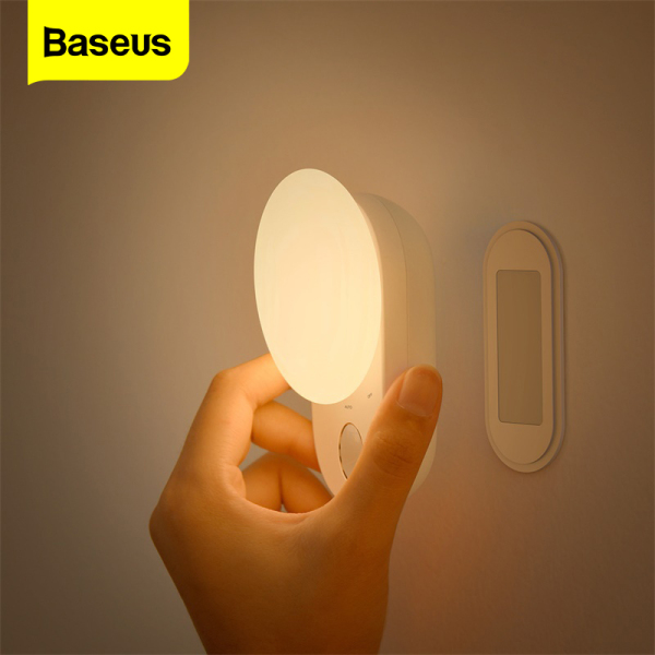 Baseus LED Induction USB Night Light Magnetic Wireless Touch Lamp Auto Closet Aisle USB Lights For Bedroom Corridor Kitchen