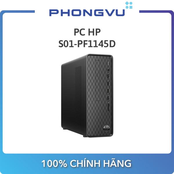 PC HP S01-pF1145d 181A5AA (I5-10400 / 8GB / SSD 256GB / Win 10 / DVD / Wifi) - Bảo hành 12 tháng