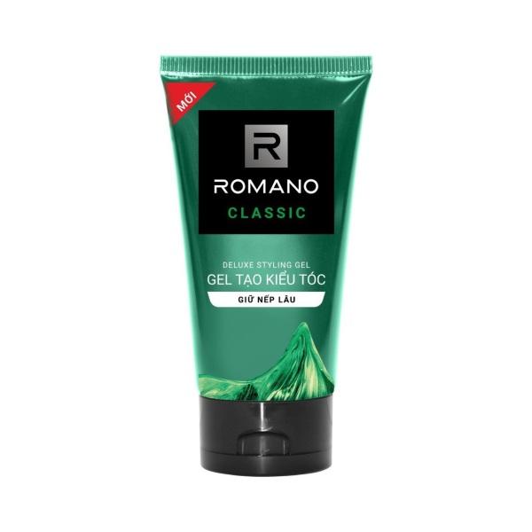 Gel vuốt tóc Romano Classic 150g, cam kết hàng đúng mô tả, chất lượng đảm bảo an toàn đến sức khỏe người sử dụng, đa dạng mẫu mã, màu sắc, kích cỡ giá rẻ
