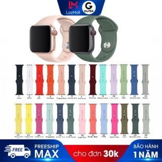 Dây Đeo Silicon Mềm Cho Đồng Hồ Thông Minh Apple Watch Iwatch 38mm 42mm 40mm 44mm thumbnail