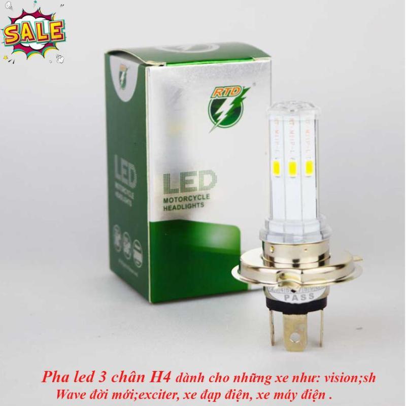 Đèn pha led xe máy,Đèn pha siêu sáng, Đèn Led Xe May Đèn Fa-cos FH-H4, den led pha cho xe may - Đèn Led Các Loại (Xe máy, Xe máy điện, Xe Đạp Điện ) Ngầu hơn, Chất Hơn Bảo Hành Toàn Quốc Bởi Lucky Store SG.