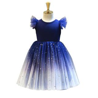 Váy Công Chúa Bé Gái Tootplay, Gạc Đầm Công Chúa Không Tay Đính Kim Sa, Dành Cho Trẻ 2-6 Tuổi