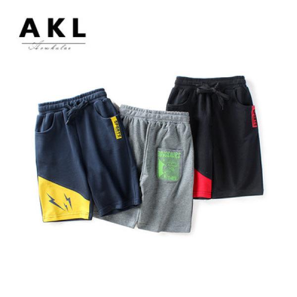 Nơi bán Quần short bé trai size đại hãng AKL, quần đùi trẻ em nam 5 -14 tuổi cho bé 25-45kg, phong cách Hàn Quốc hàng Quảng Châu cao cấp