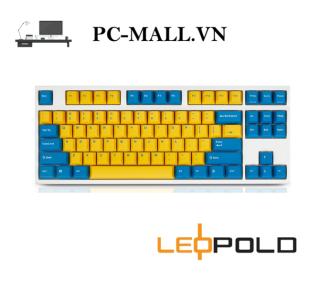 Bàn phím cơ Leopold FC750R PD Sweden - White Case - HÀNG CHÍNH HÃNG - PCMALL.VN thumbnail