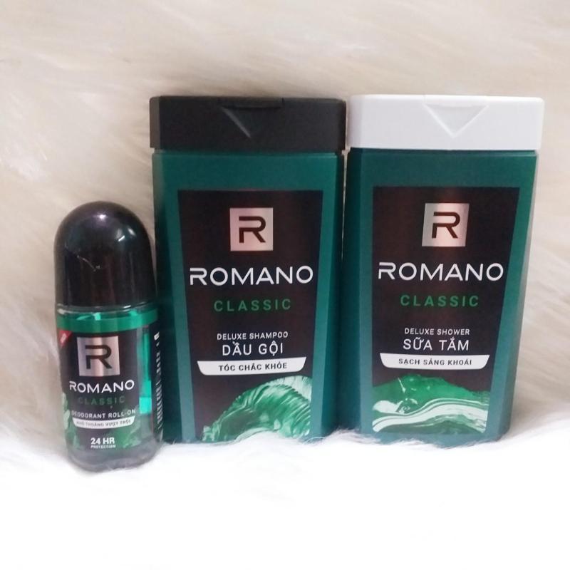 Combo 3 Romano du lịch dành cho nam nhập khẩu