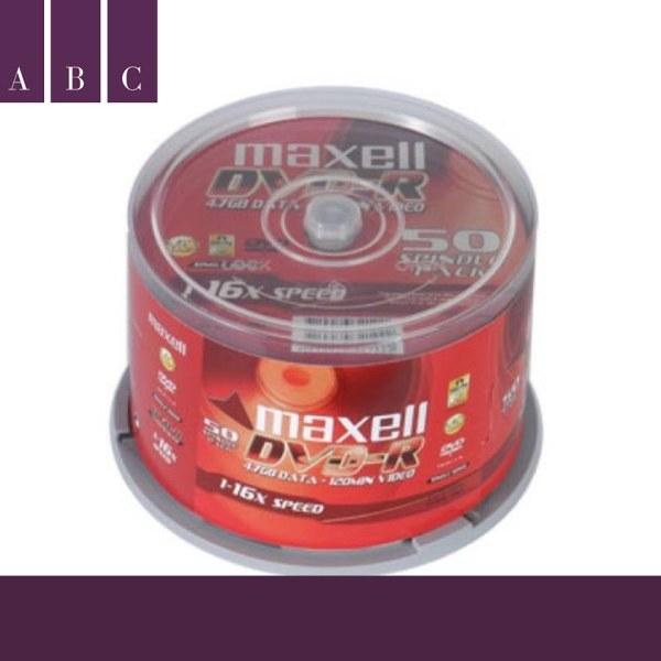 Bảng giá [HOTHOTHOT] Đĩa trắng DVD maxell hộp 50c Phong Vũ