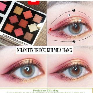 Bảng phấn mắt 9 màu ERNALOVE Eyeshadow 9 color thumbnail