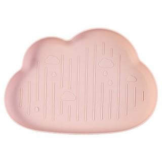 Khay đựng đồ ăn dặm Hình Đám Mây bằng Lúa Mạch an toàn cho bé thumbnail