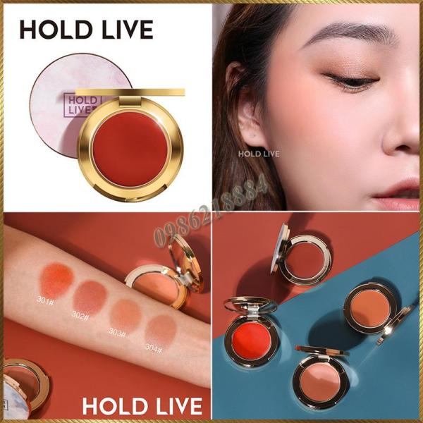Phấn má đơn sắc Hold Live Pro Silk Satin Fog Blusher SSH10 giá rẻ