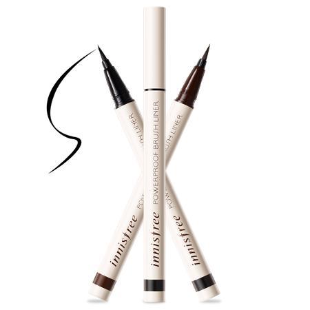 Kẻ mắt nước chống trôi Powerproof Brush Liner 0.6g #2 Brown tốt nhất