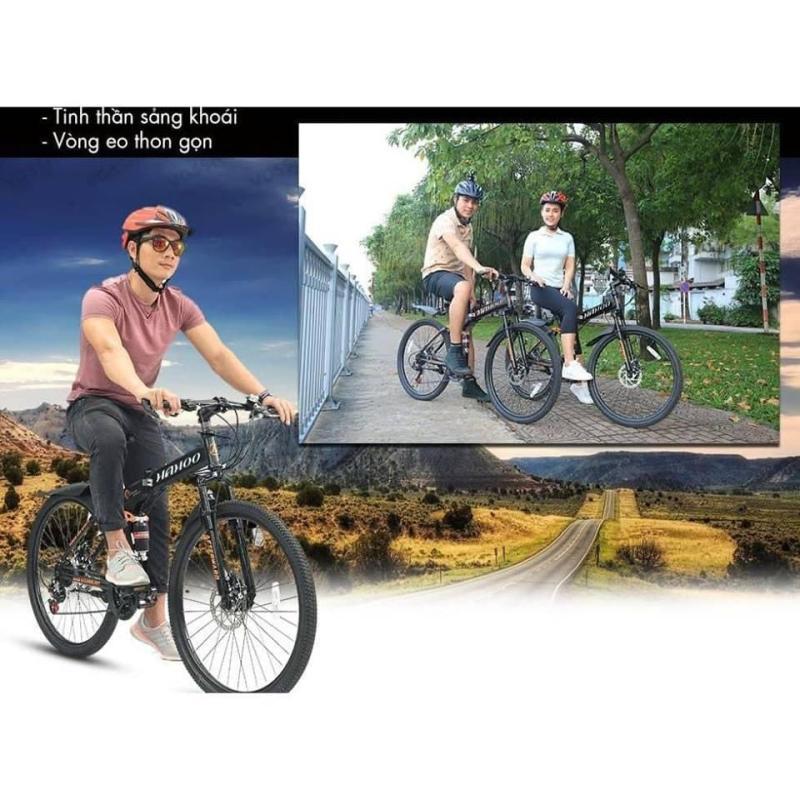Mua Xe đạp địa hình cao cấp bánh căm 26inch - có thể xếp đôi