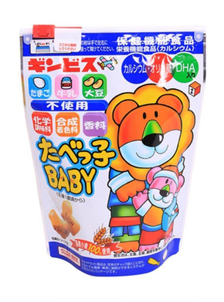 Bánh Ăn Dặm Ginbis DHA Nhật Bản Túi ZIP