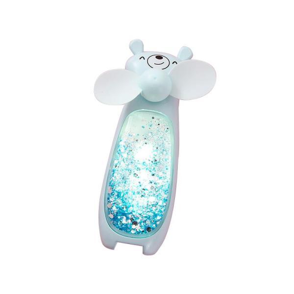 [Nhập ELMAY21 giảm 10% tối đa 200k đơn từ 99k]Quạt mini cát chảy lấp lánh R0011 nhỏ gọn dễ thương sạc bằng cổng USB có đèn led dễ dàng mang theo có tặng kèm dây treo + cáp sạc