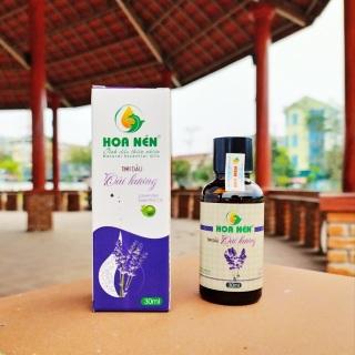 Tinh dầu oải hương nguyên chất Hoa Nén 30ml, tinh dầu cao cấp hoàn toàn tự nhiên thumbnail