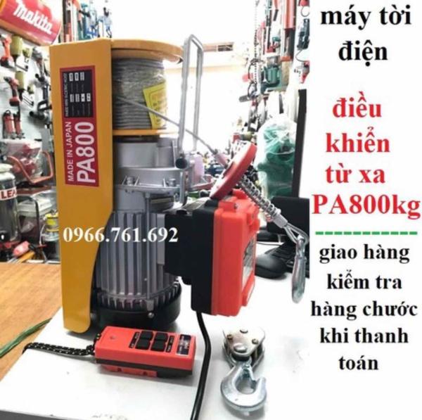 máy tời treo lắp điều khiển từ xa pa800 - tời pa 800