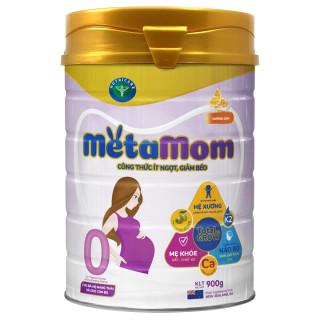 Sữa bột Nutricare MetaMom ít ngọt giảm béo cho bà mẹ mang thai & cho con bú - hương cam (900g) thumbnail