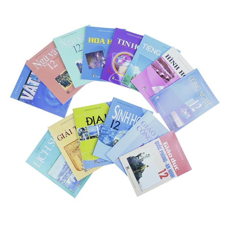Mua Bộ Sách Giáo Khoa Lớp 12 (Cơ bản) [KHÔNG GỒM SÁCH BÀI TẬP và GDQP] + Khẩu trang