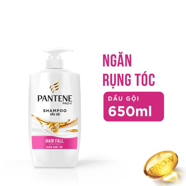 [Mẫu mới 2021] Dầu xả Pantene Ngăn rụng tóc 650ml nhập khẩu