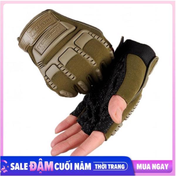 Găng tay, bao tay nam cụt ngón bảo vệ mu bàn tay và tăng độ bám Mpact