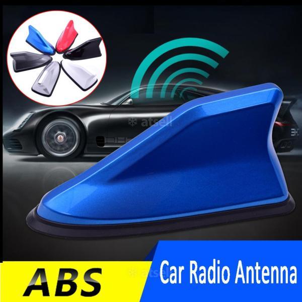 Bộ khuếch đại tín hiệu FM trên ô tô phổ quát Bộ khuếch đại sóng khí Ăng ten vây cá mập FM / AM Trang trí mái nhà Thay thế trên không
