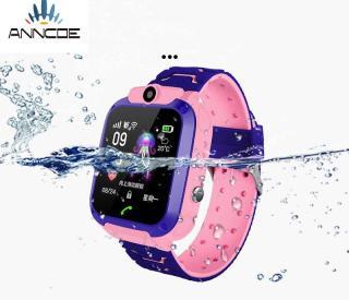 Đồng hồ thông minh định vị trẻ em ANNCOE A28 định vị chính xác vị trí chụp hình nghe nén từ xa chống nước IP67 thumbnail