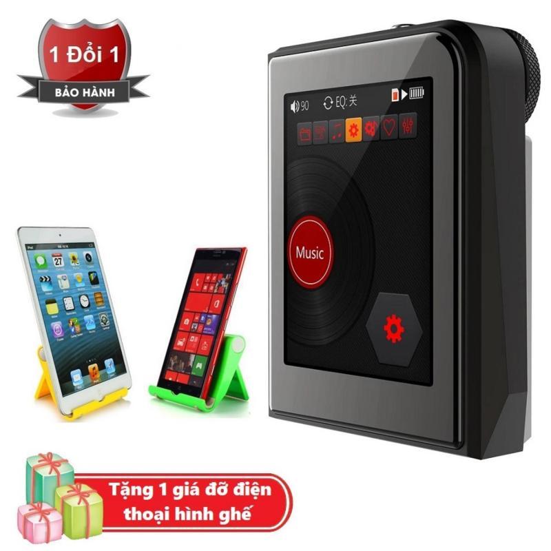 Máy nghe nhạc MP3 Lossless cao cấp Ruizu A50 - Hifi Music Player Ruizu A50 Tặng kèm Giá đỡ điện thoại hình ghế