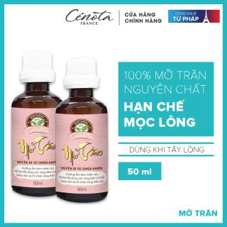 Mỡ trăn triệt lông cung cấp độ ẩm cho da giúp da mềm mịn, không bị rát Cénota 50ml thumbnail